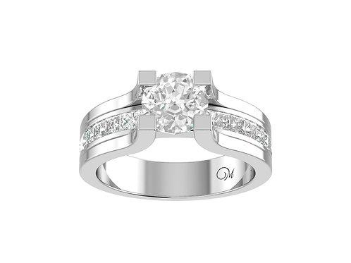 Round Brilliant-Cut Diamond Ring - RP0472