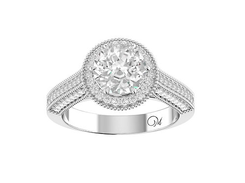 Brilliant-Cut Diamond Ring - RP0563