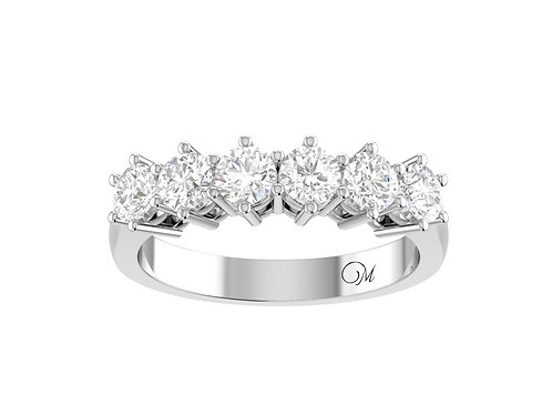 Round Brilliant-Cut Diamond Band - RP1717
