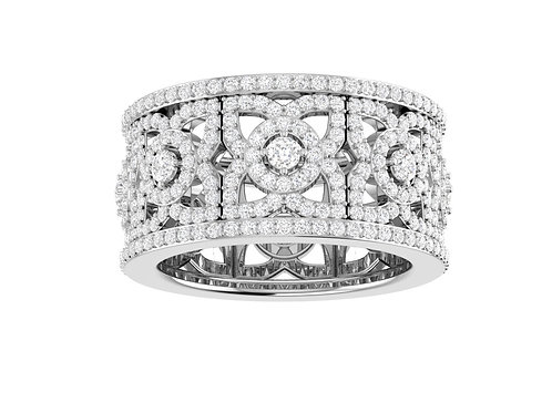 Luxury Full Eternity Diamond Band - RP0300