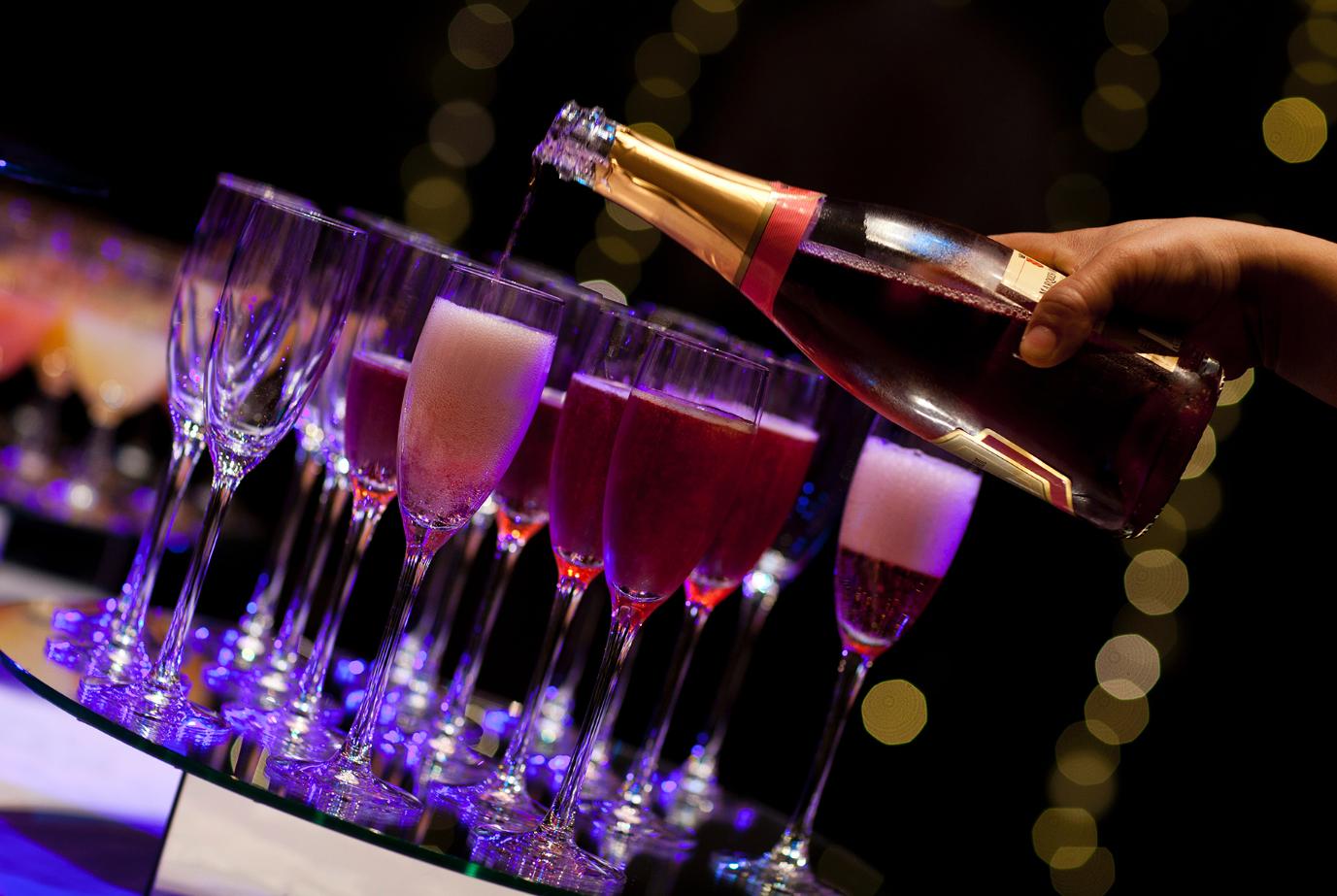 Wedding drinks reception venue