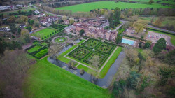 Drone view from Great Fosters