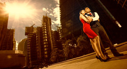 Pre wedding shoot london city