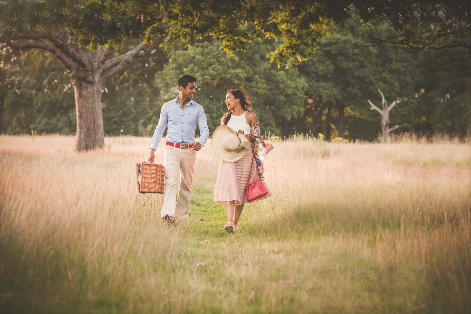 Engagement shoot richmond park