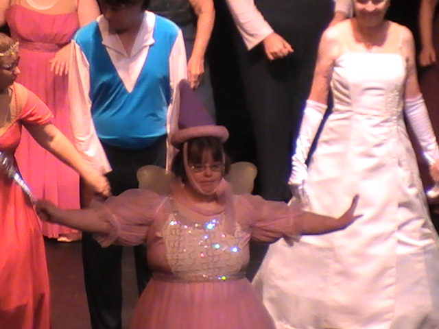 Cassie as the Fairy Godmother