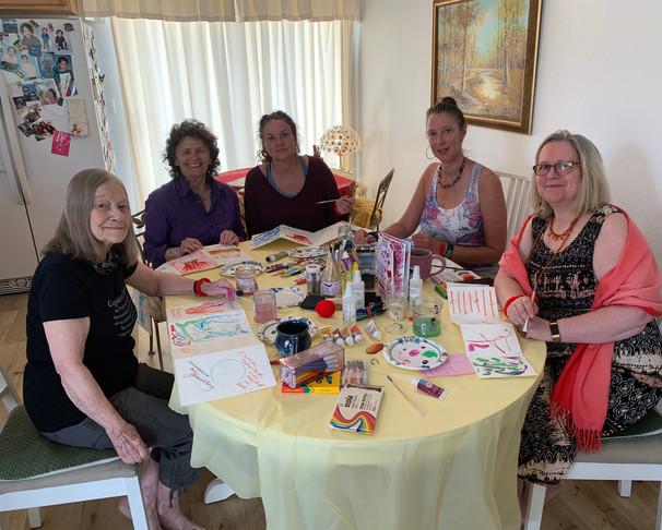 Ann, Sarah, Shannon, Penny & me