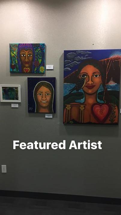 Featured Artist at local gallery