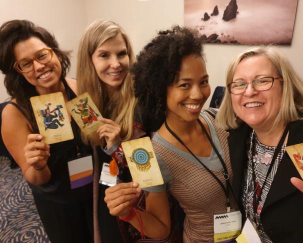 Cristy Rose, Sam, Jeannette & me at NWSA