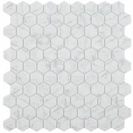 Hexagon Marble Carrara Grey $17.98 s.f  $