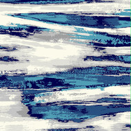 Mersin Grey/ Turquoise