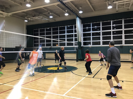 Re-Learning Volleyball at 32.