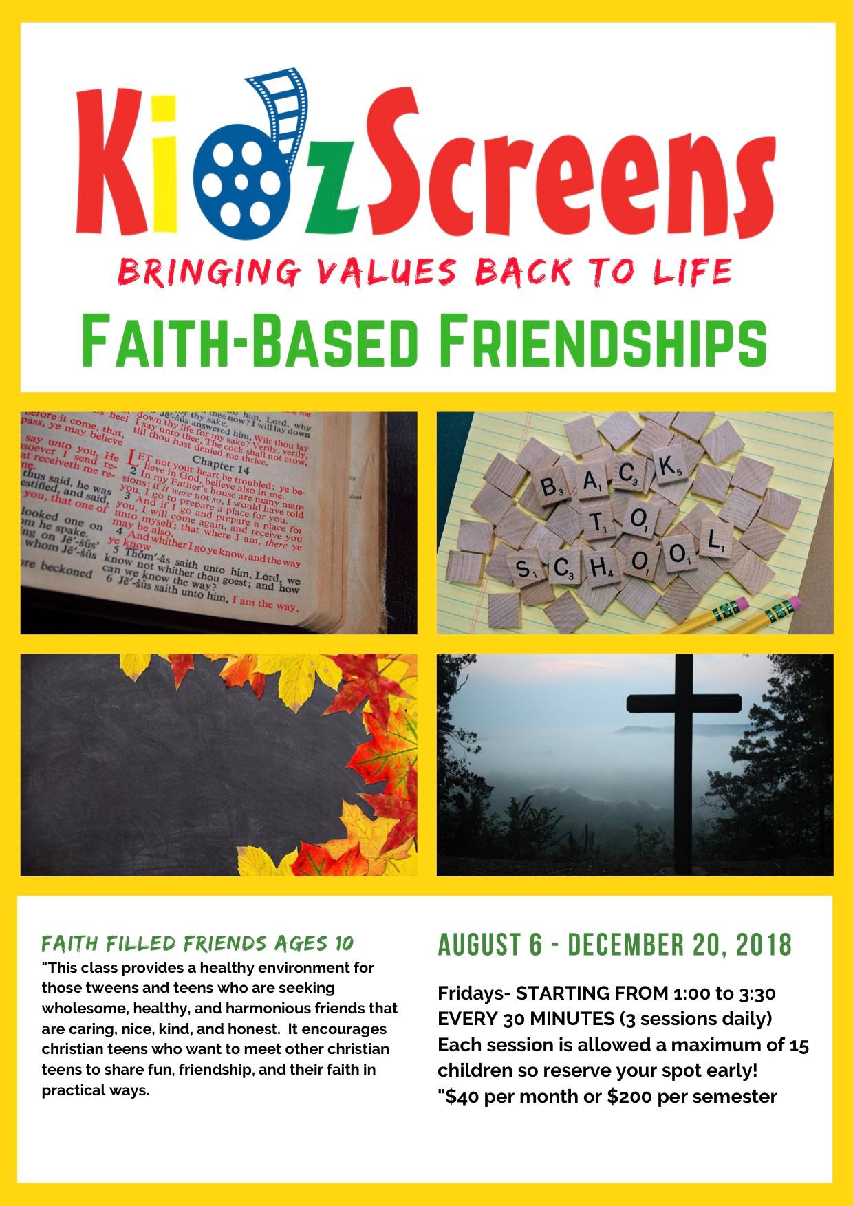 Faith-Based Friendships