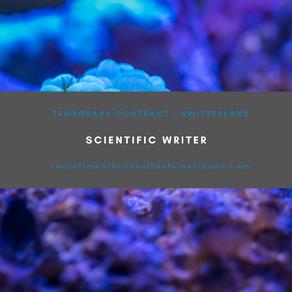 Scientific Writer - Contract - Switzerland