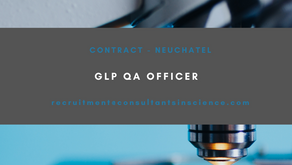 GLP QA OFFICER -  Contract