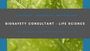 Biosafety Consultant- Life Science