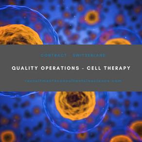 Quality Operations Consultant - Switzerland