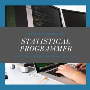 Statistical Programmer - Neuchatel