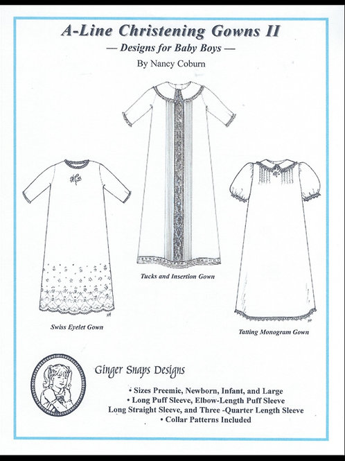 A-Line Christening Gown II