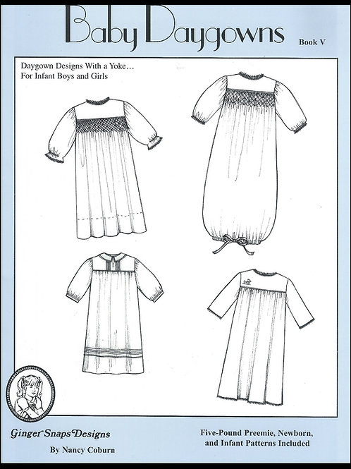 Baby Day Gowns V
