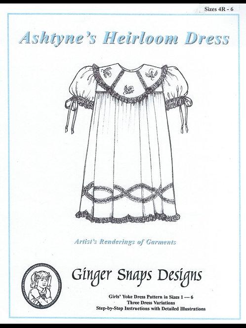 Ashtyne's Heirloom Dress, 4R - 6