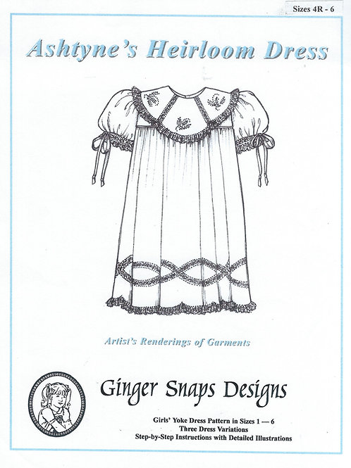 Ashtyne's Heirloom Dress, Sizes 4R - 6