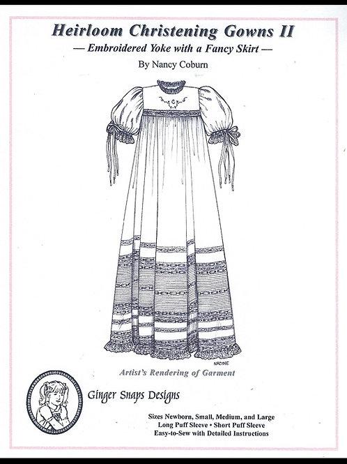 Heirloom Christening Gown II