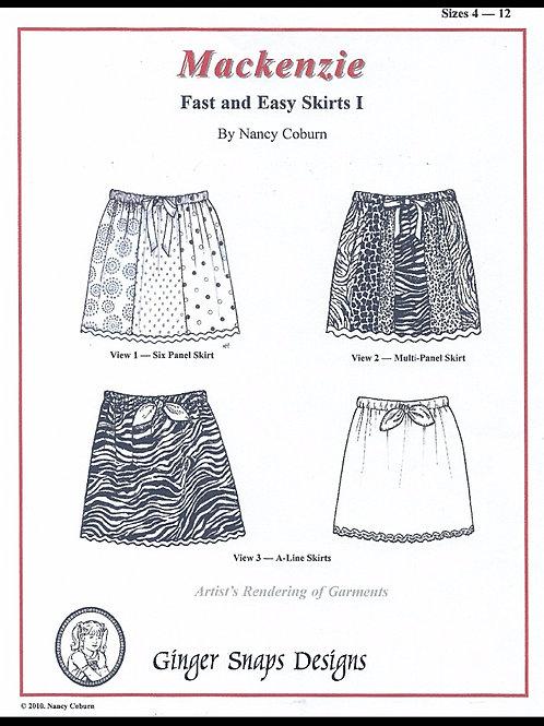 Mackenzie Fast and Easy Skirts I
