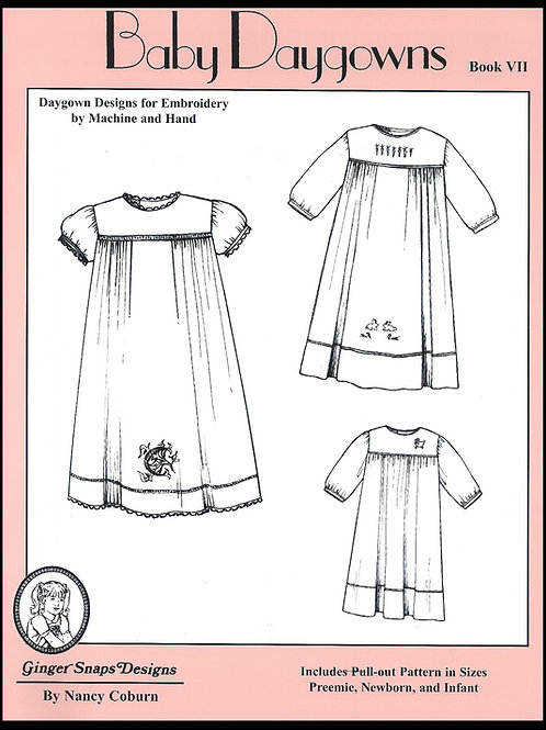 Baby Day Gowns VII
