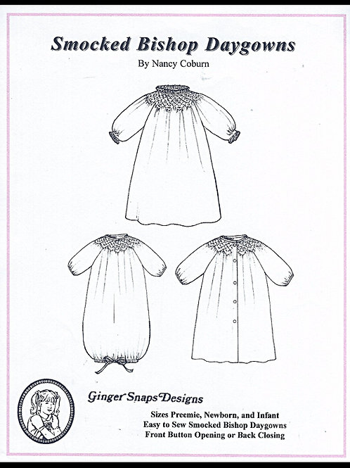 Smocked Bishop Daygown