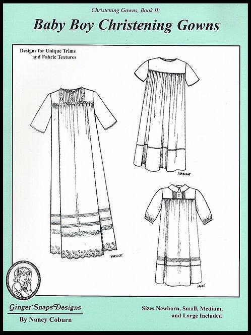 Baby Boy Christening Gowns