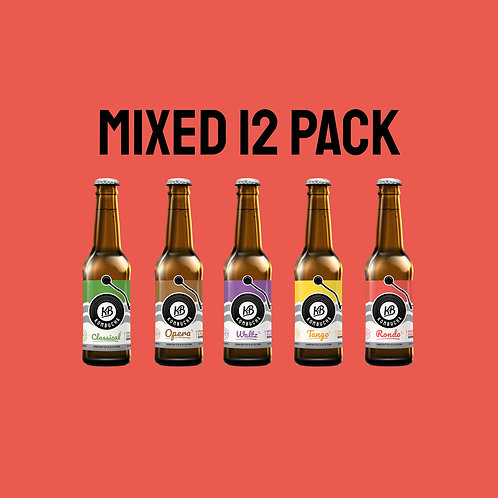 Mixed 12 Pack – 12x330ml Pack