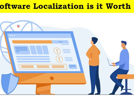 Software Localization: Is it worth it?