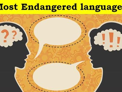 Most Endangered languages