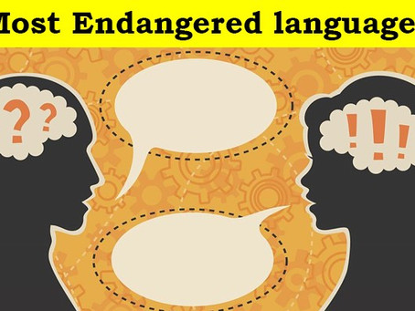Most Endangered languages