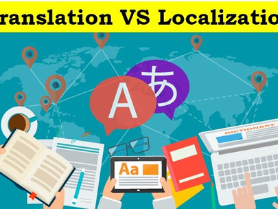 Difference between translation and localization