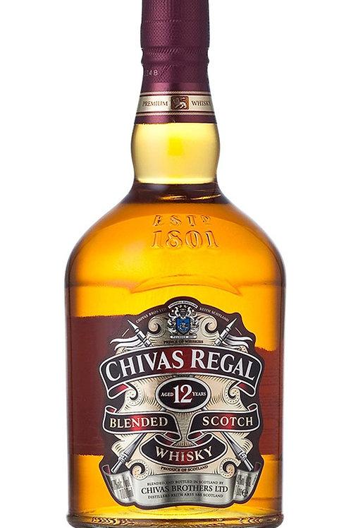 Whisky Chivas Regal 12 750ml