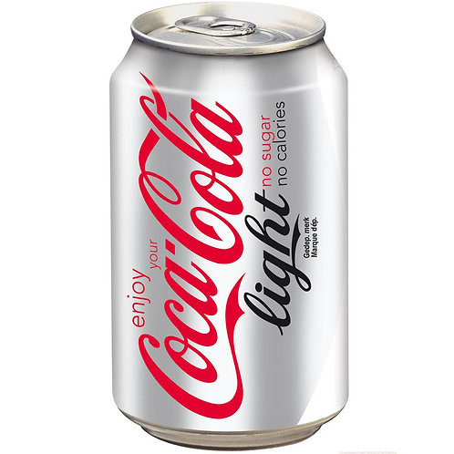 Coca Cola Light 355 ml Can