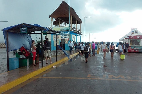 Ferry Dock at Chiquilá (Holbox)