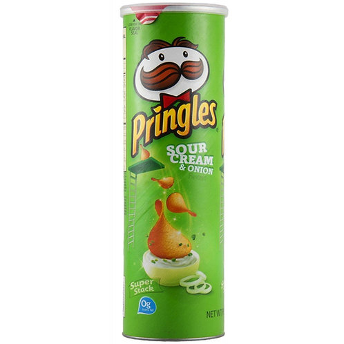 Pringles Cream & Onion 182g