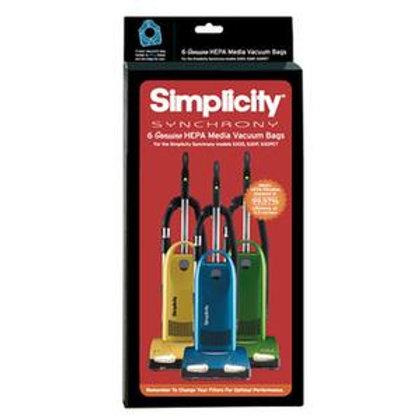 Synchrony HEPA Media Vacuum Bags (pack of 6) SNH-6