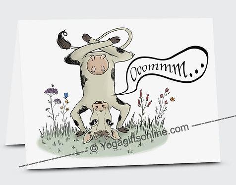 Om Cow Card