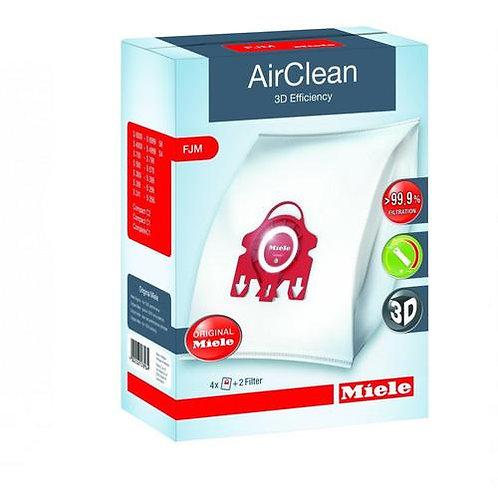 Type FJM AirClean 3D Efficiency Vacuum Bags 4 Bags & 2 Filters 4002515578964