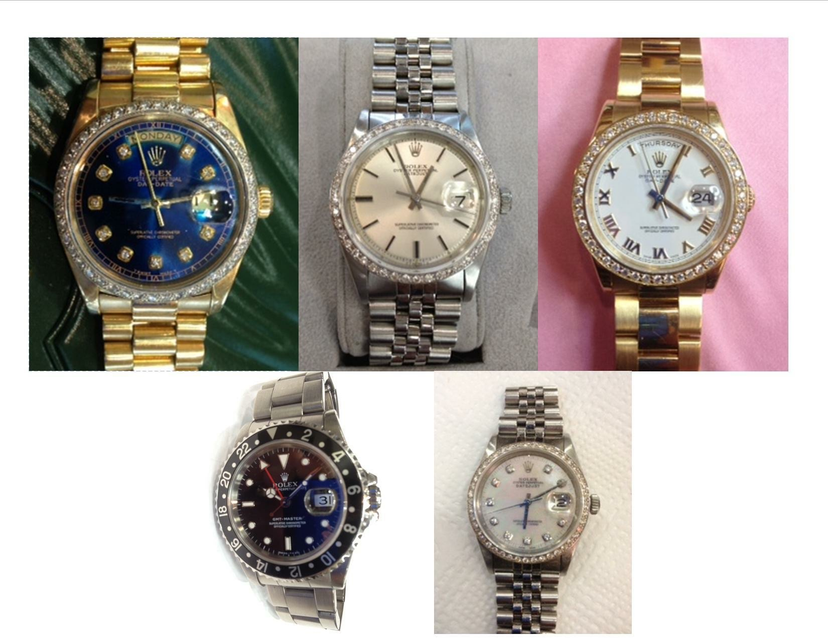 Consignment watch sales