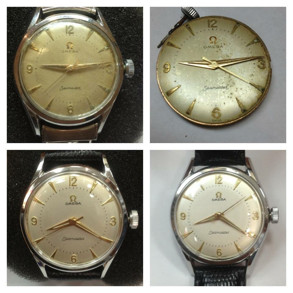 Expert watch restoration