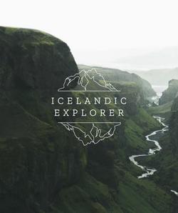 icelandic explorer logo husid julie