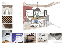 Interior design Vesturbyggð offices.