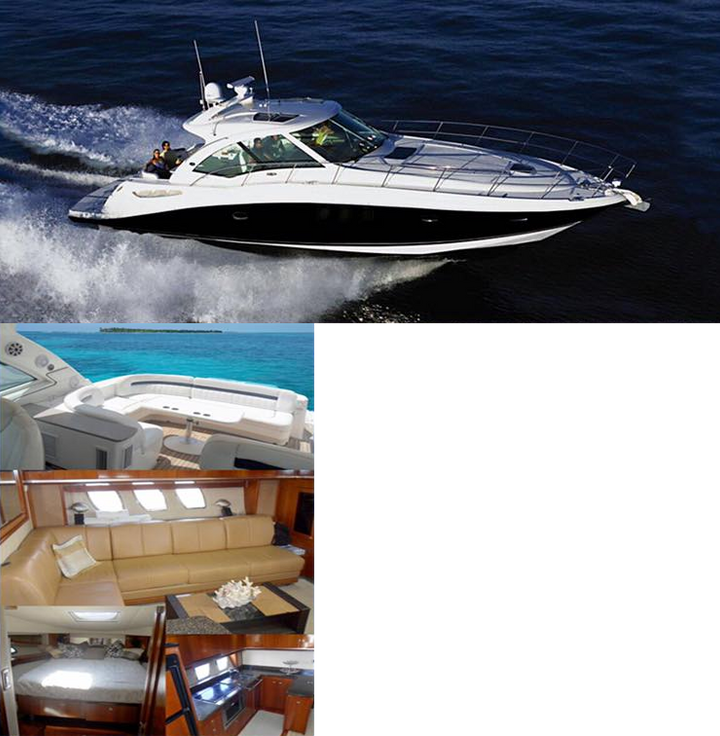 sea ray sundancer 50'