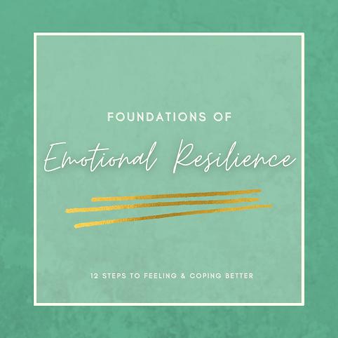 Foundations of Emotional Reslience - squ