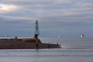 Sailing boats and fishermen