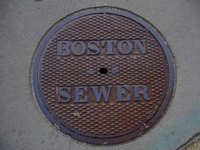 Boston sewer